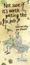 Dont let flu turn on you leaflet