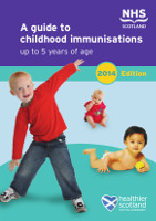 A guide to childhood immunisations up to 5 years of age