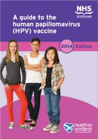 A guide to the human papillomavirus (HPV) vaccine