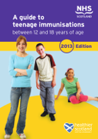 A guide to teenage immunisations