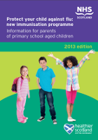Flu leaflet: primary school children