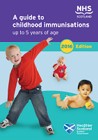 Childhood Immunisation 0-5 Leaflet no drop shadow