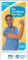 Flu Leaflet Healthcare Workers