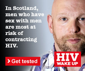 If you are a man who has sex with men, you could be more at risk of becoming HIV positive. Visit www.hiv-wakeup.org.uk to find out how to get tested and stay protected.