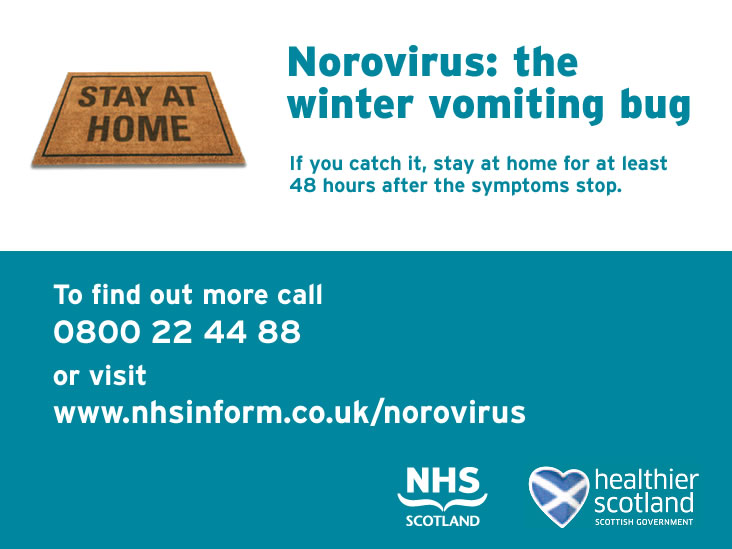 Find out more about norovirus at www.nhsinform.co.uk/norovirus
