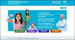 Immunisation Scotland home page