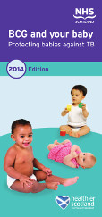 Cover of 'BCG and your baby'