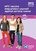 Cover of 'A guide to the HPV vaccine'